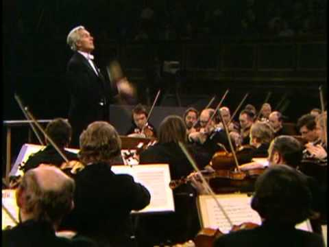 Rudolf Kempe conducting Brahms: Symphony No.2 with Bamberg Symphony in 1973
