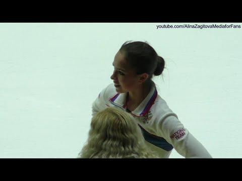 Alina Zagitova GP Helsinki 2018 FULL Practice