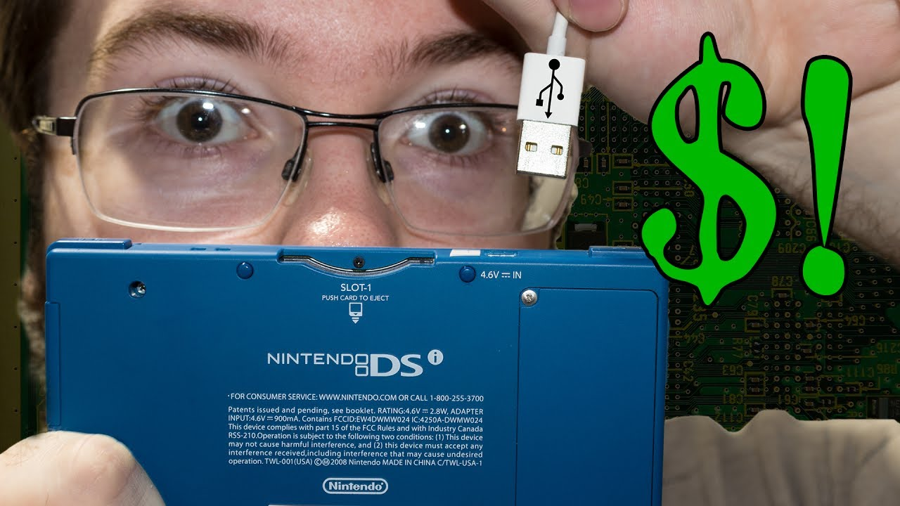 DIY DSi USB Charging Cable on a Budget Nintendo Dsi Power Wiring Diagram on
