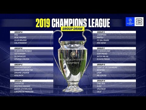 HIGHLIGHTS | UEFA Champions League Group Stage Draw