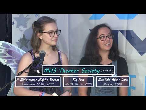 Medfield HS Theater Society Promo (2018-2019)