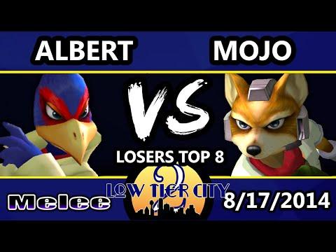 Low Tier City 2 - Mojo (TX) (Fox, Captain Falcon) Vs. Albert (Falco) - Losers Top 8