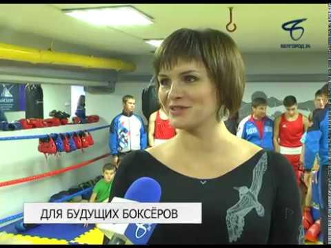 В 43-й школе Белгорода отремонтировали зал бокса