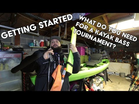 Kayak Bass Fishing 101- Getting Started In Kayak Bass Fishing Tournaments