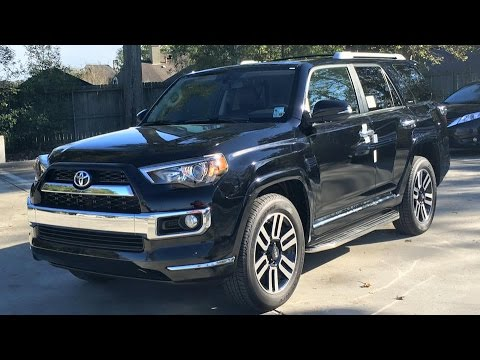 2016 toyota 4runner limited full review start up exhaust youtube. Black Bedroom Furniture Sets. Home Design Ideas