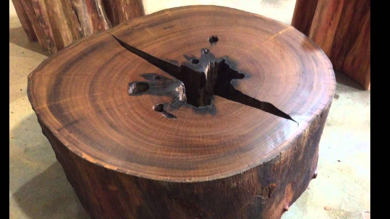 M veis arboreal mesas r sticas bases de mesa de jantar for Mesas para bar rusticas