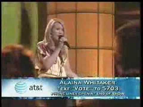 American Idol - Alaina Whitaker - More Today Than Yesterday