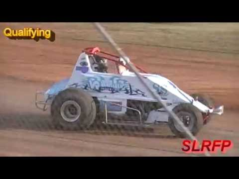 9 10 16 Sunset Speedway Wingless Sprint Series Qualiying