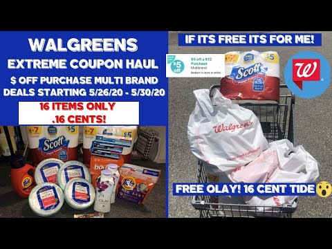 WALGREENS EXTREME COUPON HAUL $ OFF APP COUPON BONUS DEALS~IF ITS FREE ITS FOR ME 🔥 FREE & CHEAP!