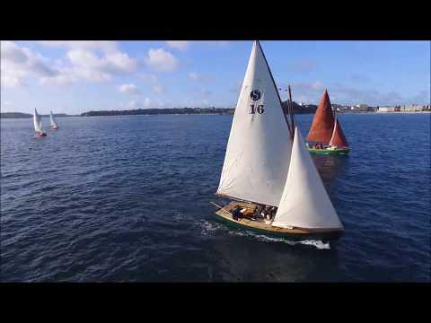 Vidéo de Stir Ven 22 en Baie de Saint Malo. Mai 2017