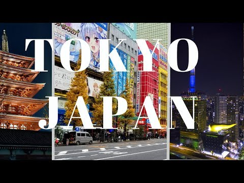 The Magical City Of Tokyo Japan