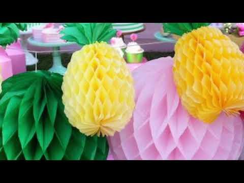 Fiesta Hawaiana- Decoración