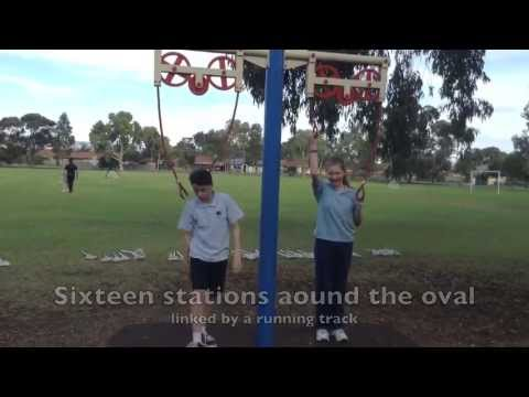 Community Fitness circuit and track - Hillcrest Primary School