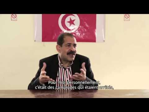 Interview du leader Chokri Belaid en avril 2012 1/2