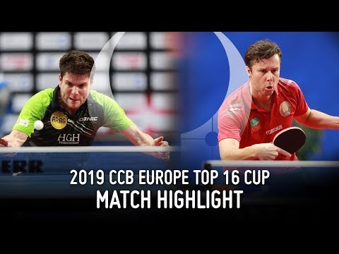 Vladimir Samsonov vs Dimitrij Ovtcharov | 2019 Europe Top 16 Cup Highlights (Final)