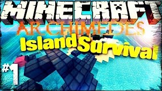 Minecraft Archimedes Island - #1 Shipwreck (Survival Series)
