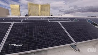 Vegas hotel bets on solar power
