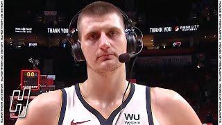 Nikola Jokic Postgame Interview - Game 6 - Nuggets vs Blazers | 2021 NBA Playoffs