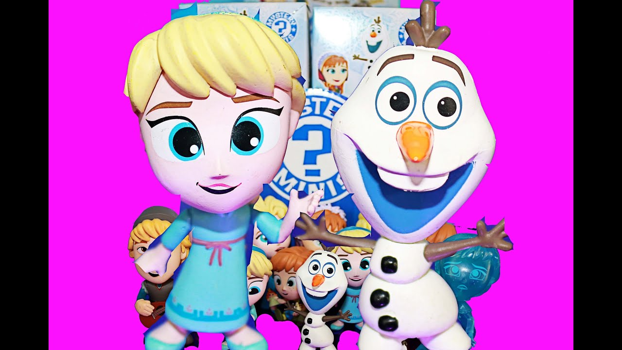 Disney Frozen Mystery Minis Funko Unboxing Toy Video Youtube