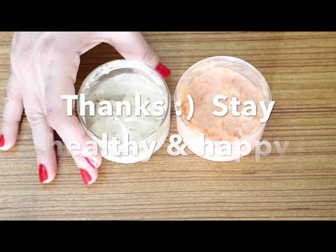 2 Healthy whitening GLOW face scrubs for winter (Really works!)