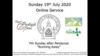 Alloway Parish Church Online Service - Sunday, 19th July 2020