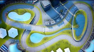 PixelJunk Racers 2nd Lap: Buddy race gameplay [HD]