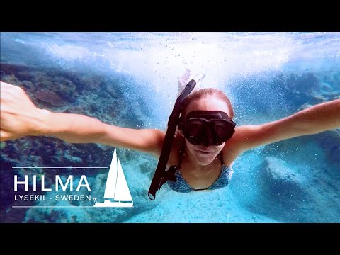 Cristal clear water at the coral island Niue, Ep 38 Hilma Sailing