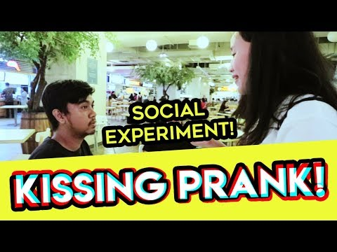 KISSING PRANK , SOCIAL EXPERIMENT INDONESIA   TWOLOL
