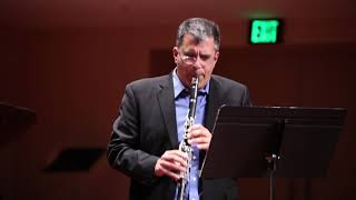 LCCE Performs Weinberg Sonata for Clarinet and Piano Op. 28