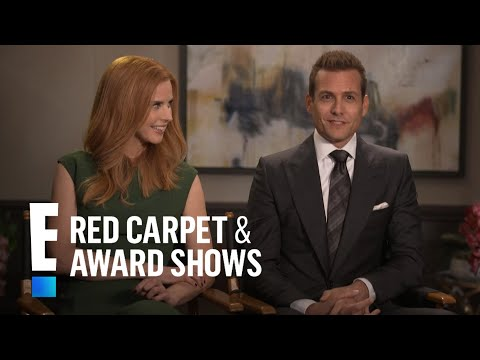 """""""Suits"""" Stars Recall Royal Wedding Experience   E! Red Carpet & Award Shows"""