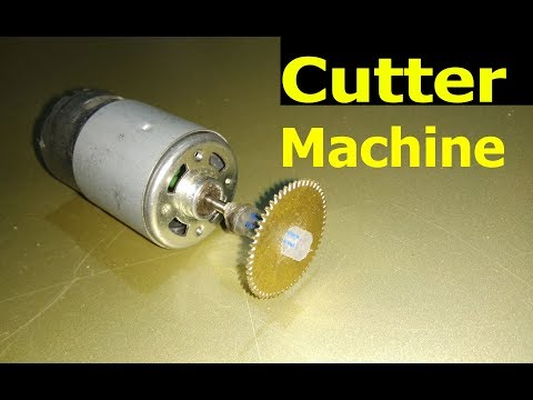 how to make cutter machine at home