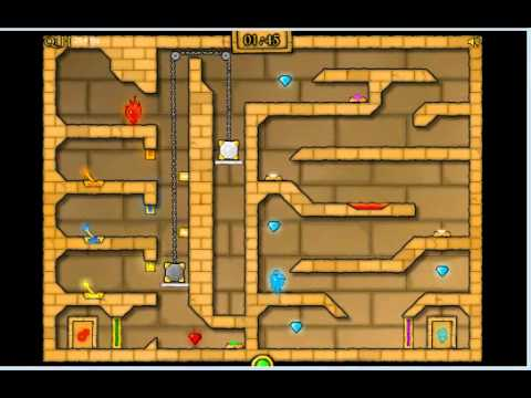 Fireboy And Watergirl 2 In Light Temple Cool Math Level 20