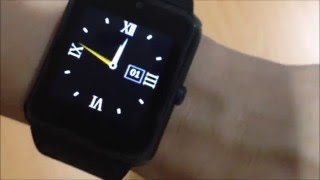 GT08 Smartwatch Unboxing and Review