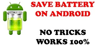 HOW TO INCREASE BATTERY LIFE ON ANDROID | IN TELUGU