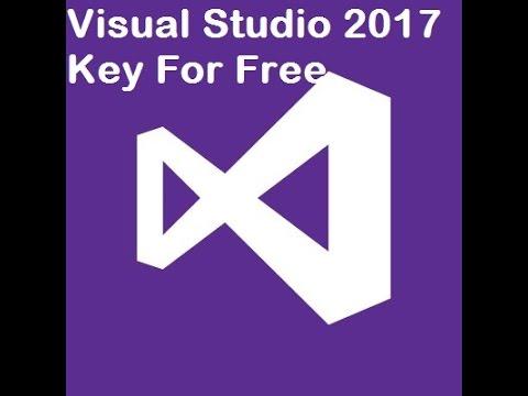 get visual studio 2017 product key