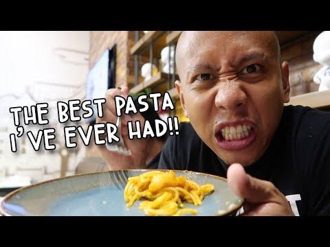 OMG THE #1 BEST PASTA I'VE EVER TASTED! (I DIED!)   Vlog #131
