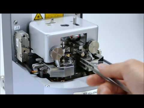 Spm 9700 Head Slide Mechanism Youtube