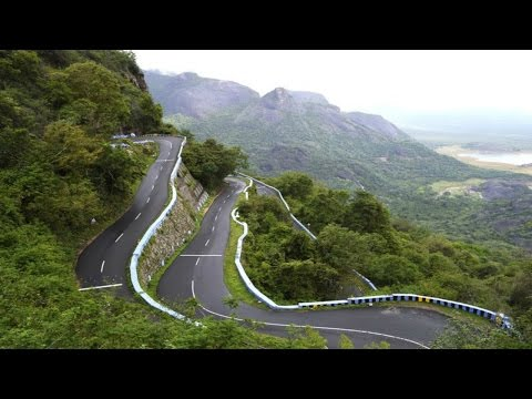 36 Hairpin Bends Road - World Most Zig Zag Road in Ooty India