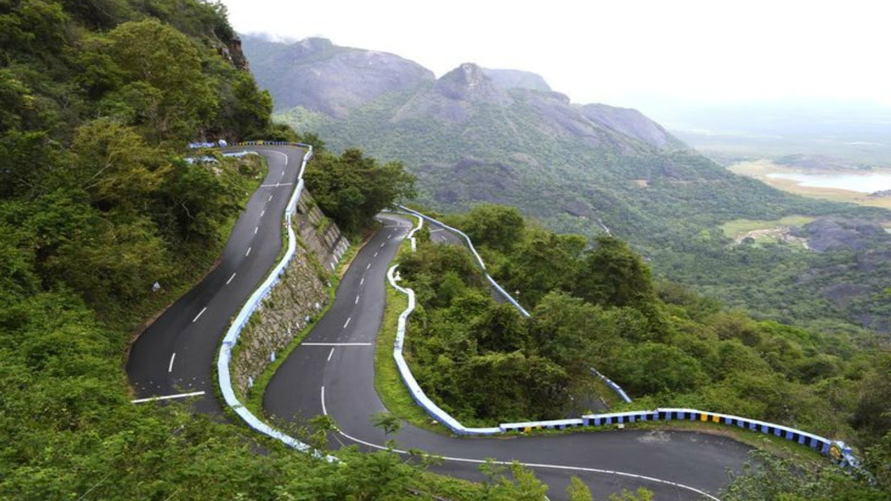 36 Hairpin Bends Road - World Most Zig Zag Road in Ooty ...