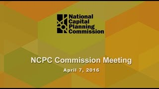 April 2016 Commission Meeting
