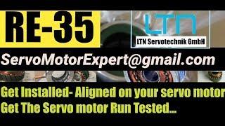 LTN RE-35, RE35, RE 35 Resolver Install Adjust Align Servo Motor - India/ UAE Dubai