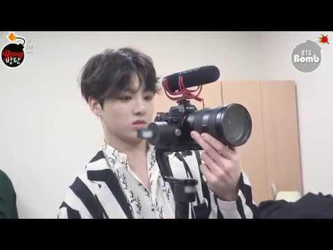 [Sub Español] [BANGTAN BOMB] JK is trying new filming stuff - BTS (방탄소년단)