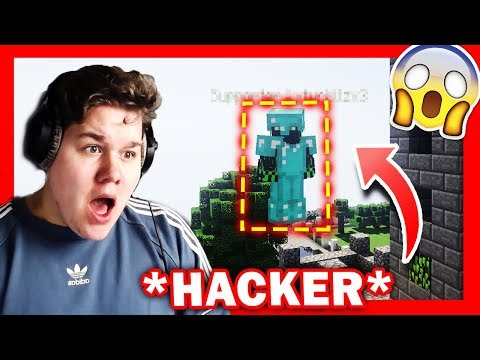 *VERBOTENER FLY HACK* in MINECRAFT 😱😡 *VERBOTEN*