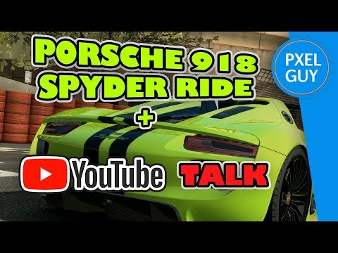YOUTUBE TALK AND PORSCHE 918 SPYDER MELBOURNE - REAL RACING 3