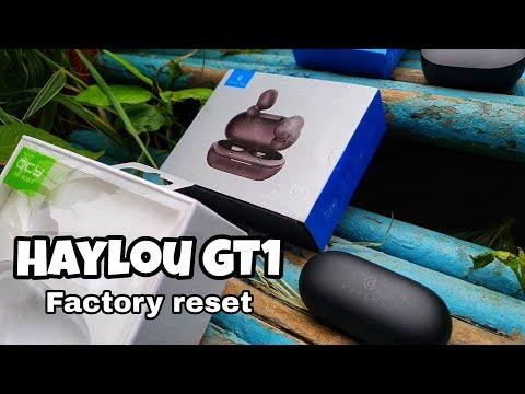 Haylou GT1 - полный сброс, если наушники не видят друг друга