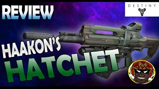Haakon's Hatchet (Vendor Roll) Legendary Auto Rifle Review | Destiny PS4