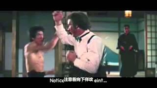 解密李小龙功夫之谜 Camara lenta en movimientos de Bruce Lee.