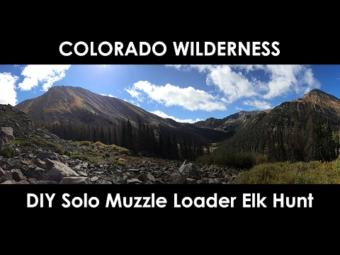 DIY Colorado Muzzle Loader Elk Hunt