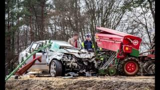 Wypadki z udziałem maszyn rolniczych 2015-2016