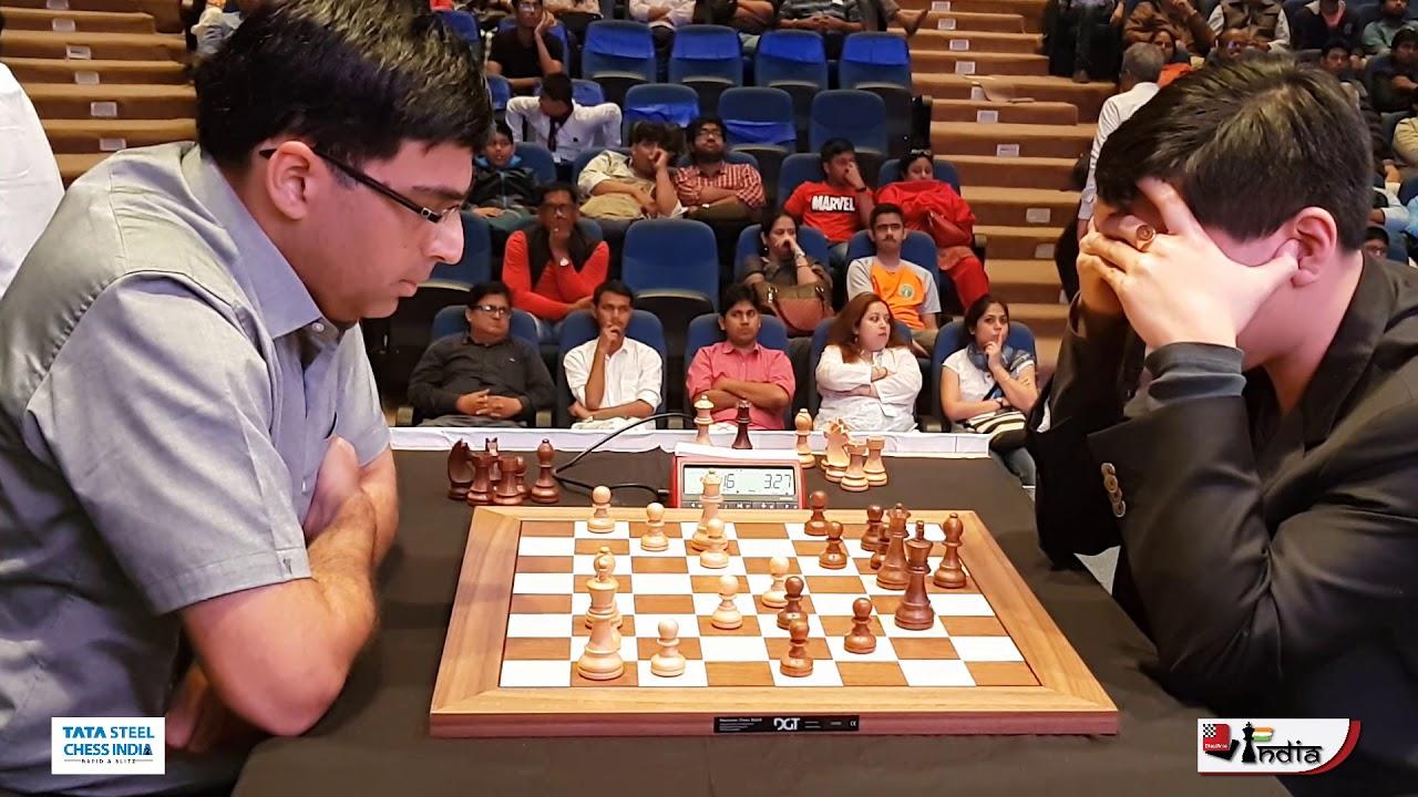 Vishy Anand vs Wesley So | Tata Steel Chess India Blitz 2019